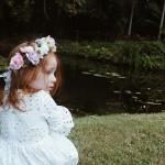 Girls White Elizabeth Broderie Anglaise Dress