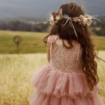 Girls Briar Rose Mid Length Dress