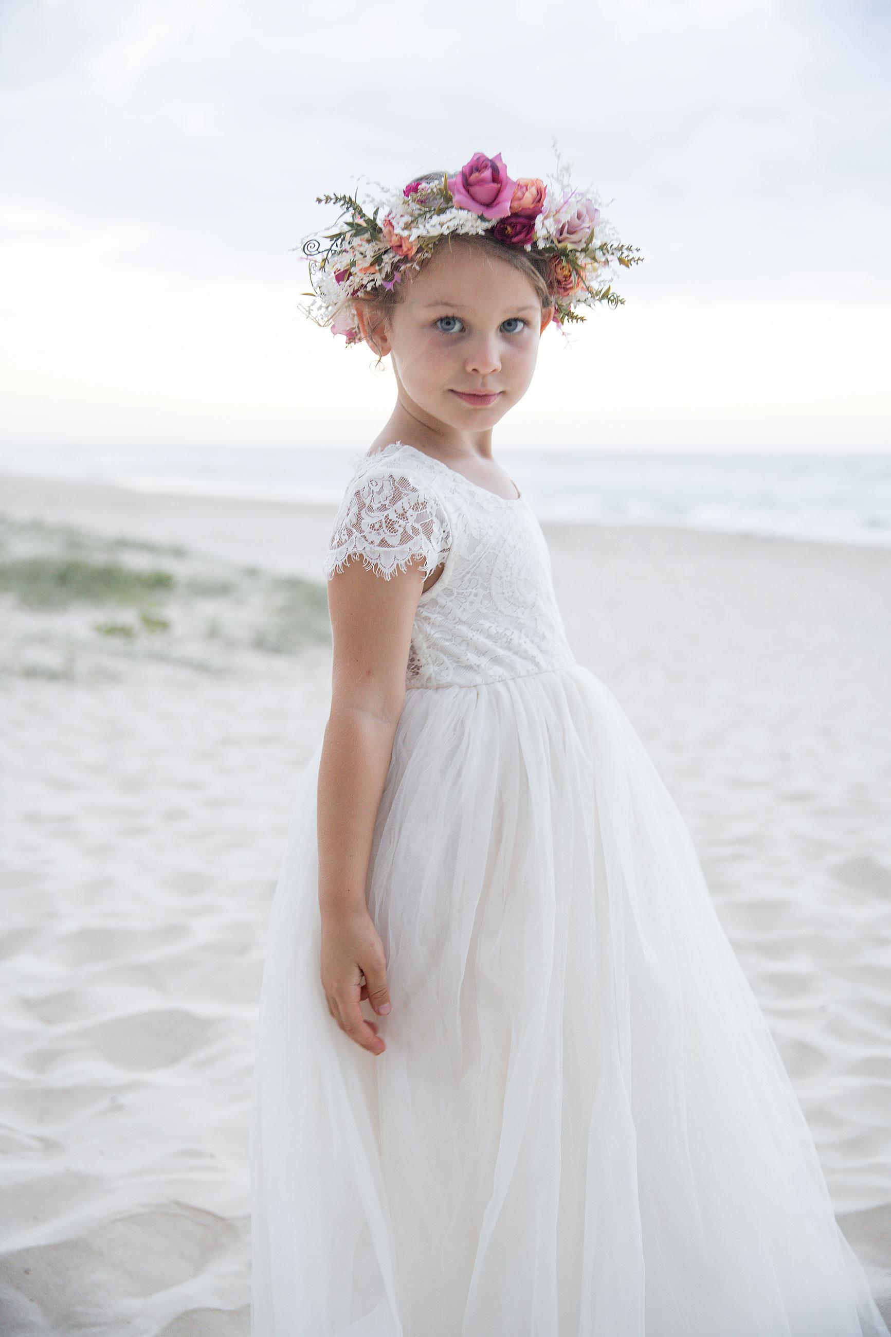 Cream Magnolia Capped Sleeve Dress6