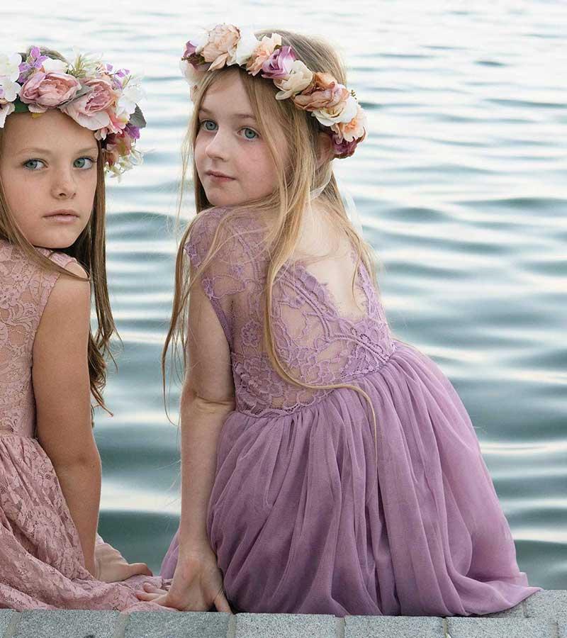Mauve Chloes Sleeveless Dress Thumb