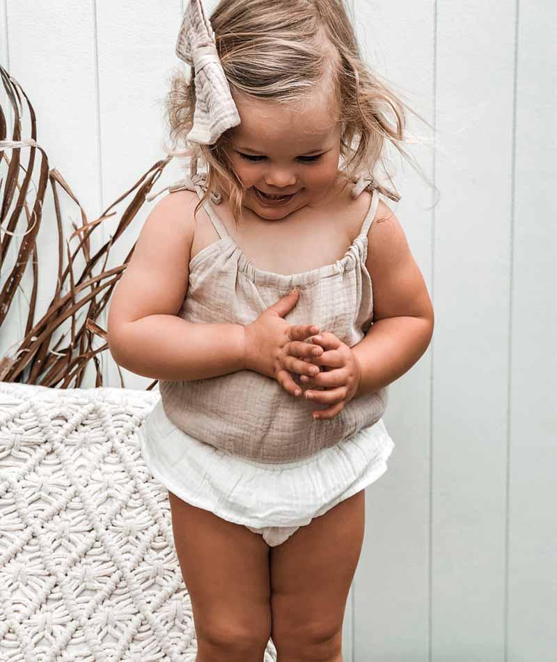 Scarlett White Muslin Bloomers Thumb