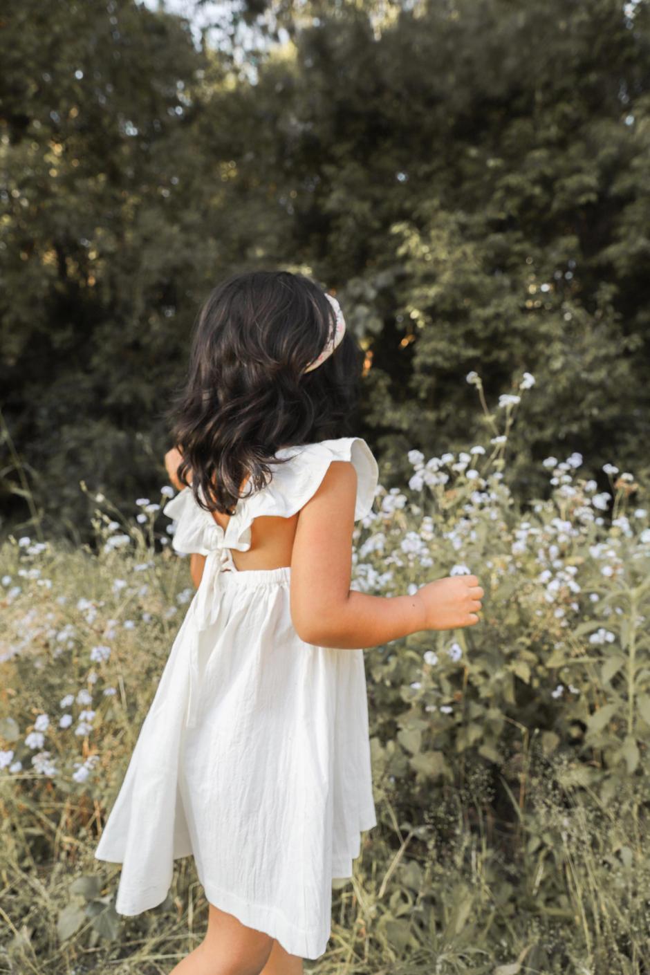 Valerie Ivory Linen Dress7
