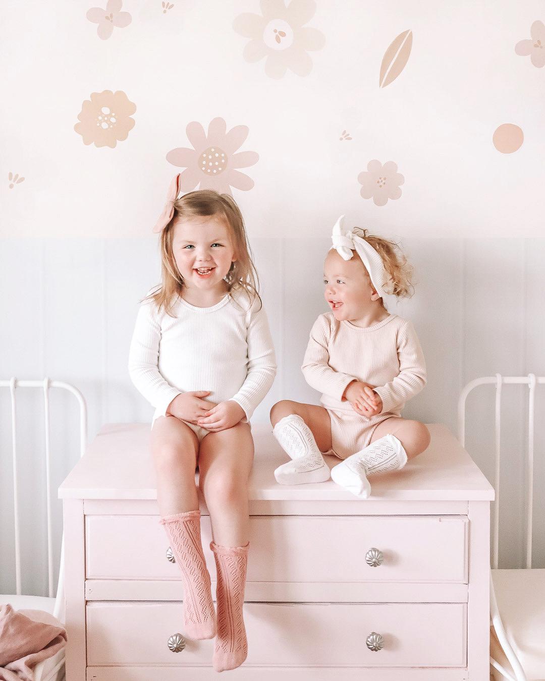 Kiki Cream White Bodysuits