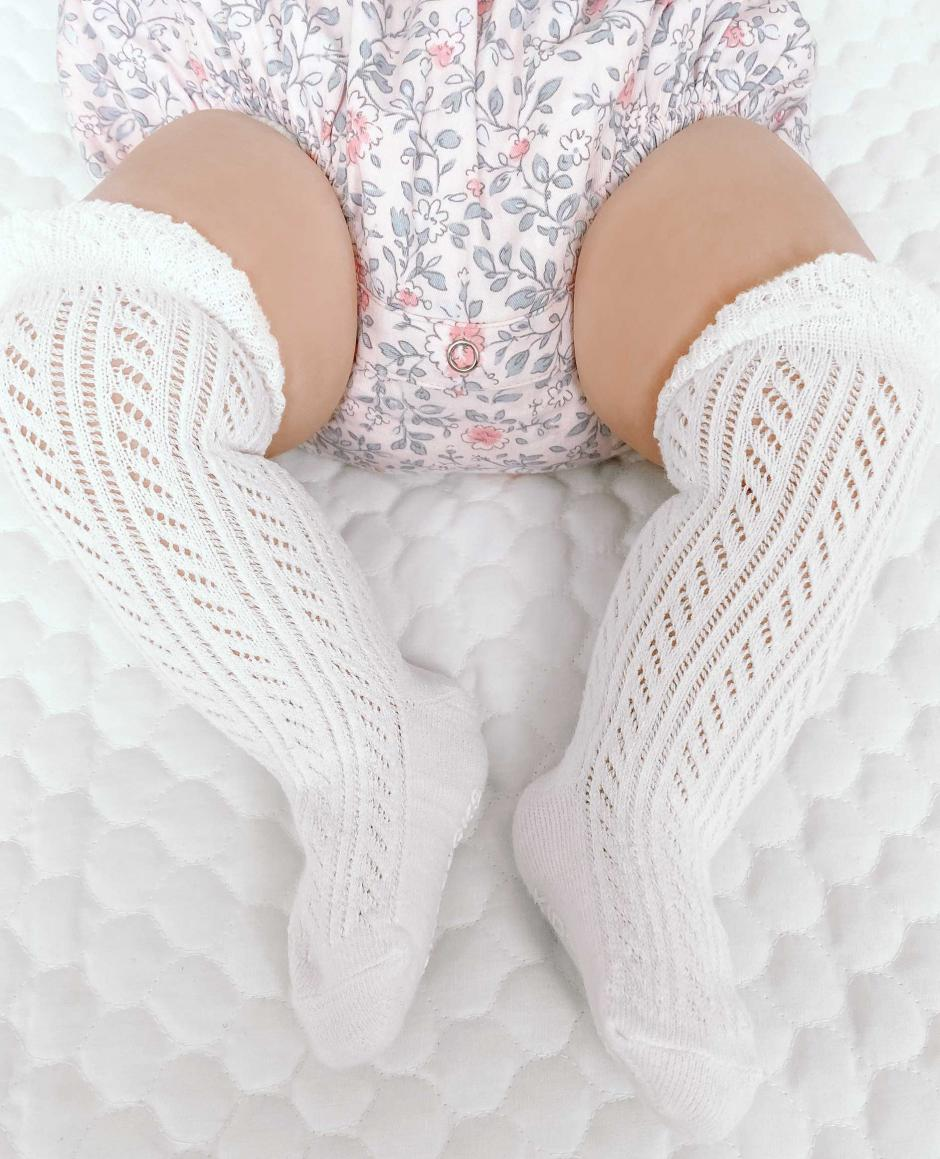 Emery White Socks2