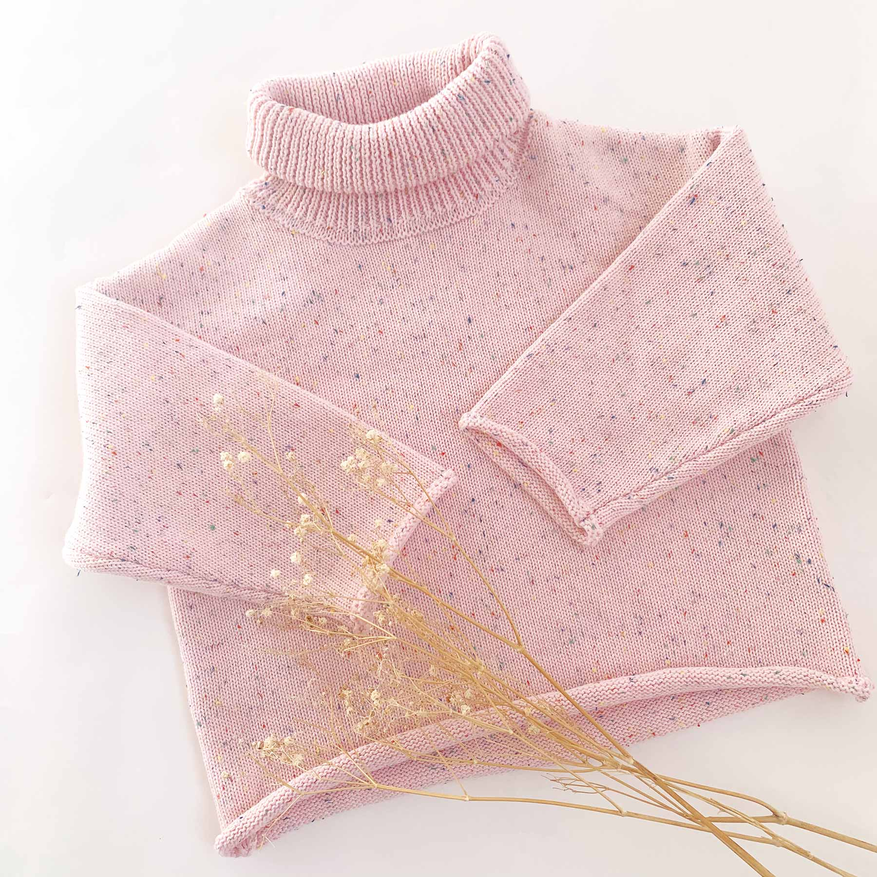 Confetti Knit Jumper Pink Sundae