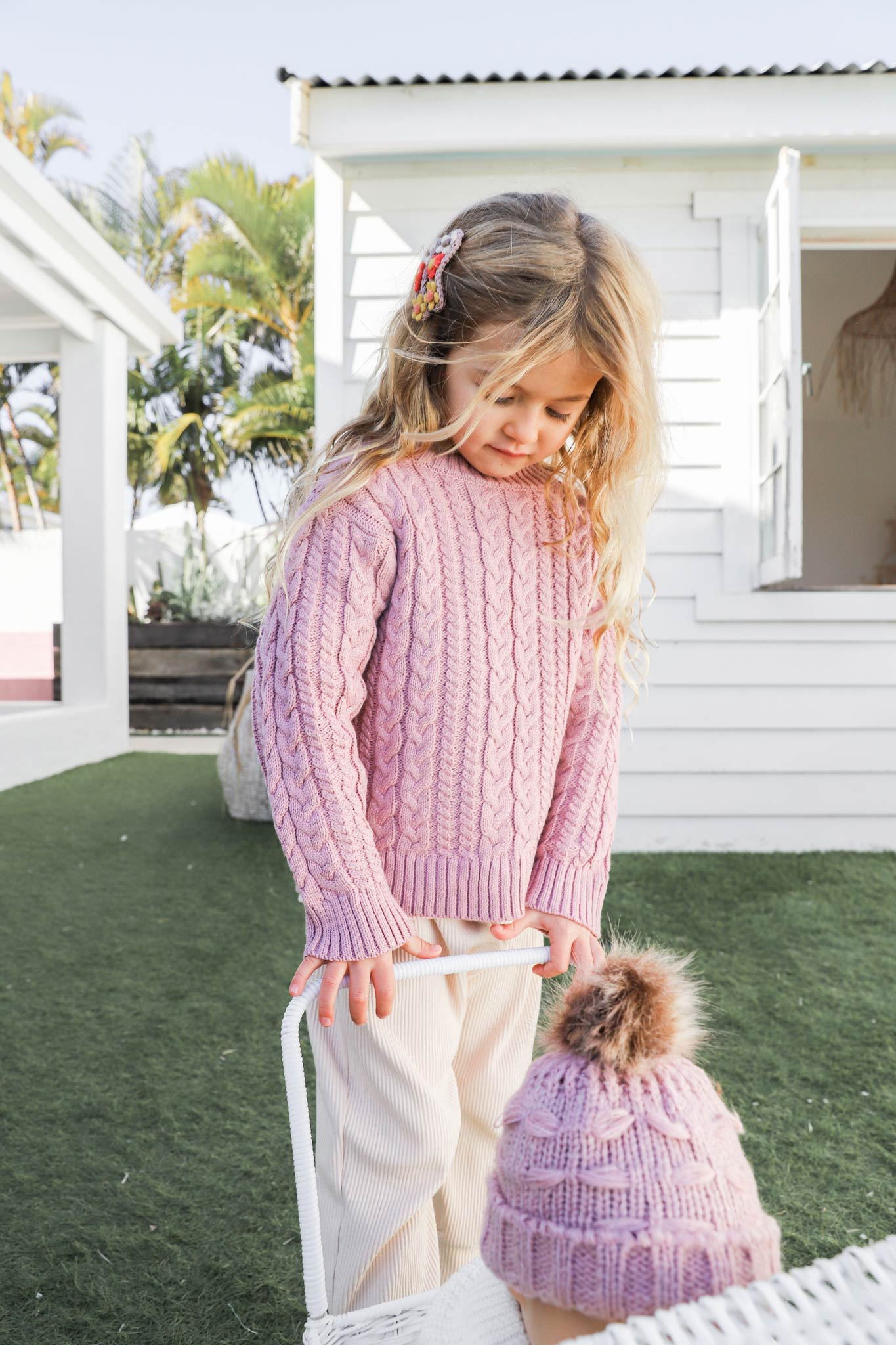 Cove Jumper Pink Dusty Parker Pant Oatmeal5