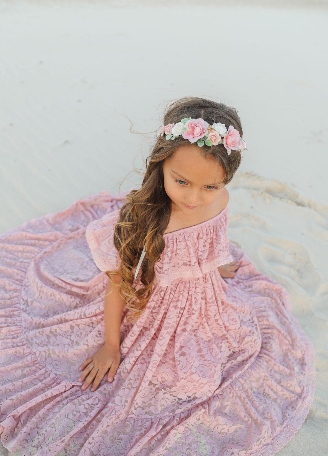 Djusty Rose Delphine Gracie Flower Crown
