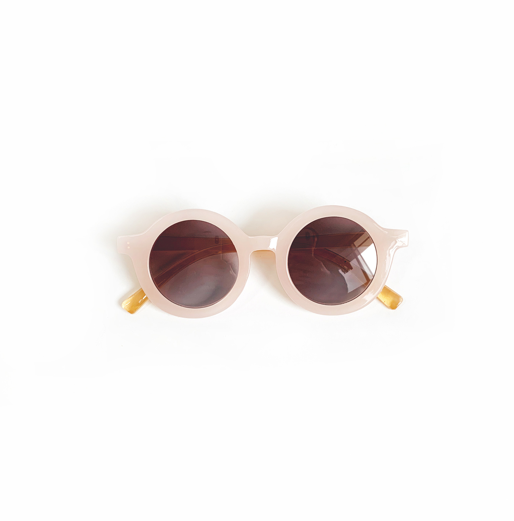 Marlowe Pink Peach Sunglasses Front