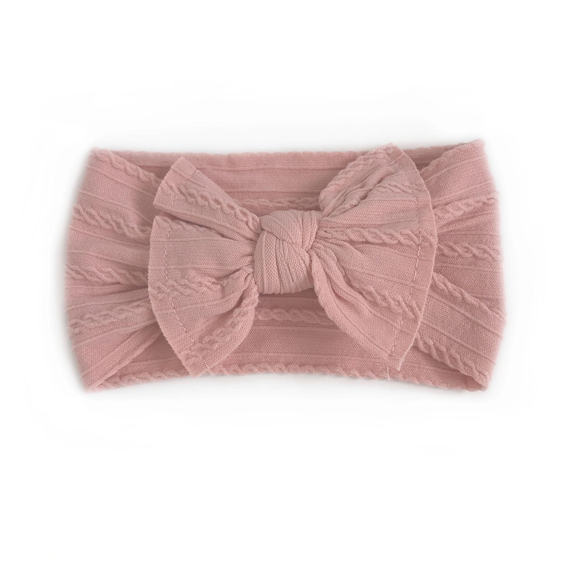 Ophelia Dusty Pink Stretch Headband