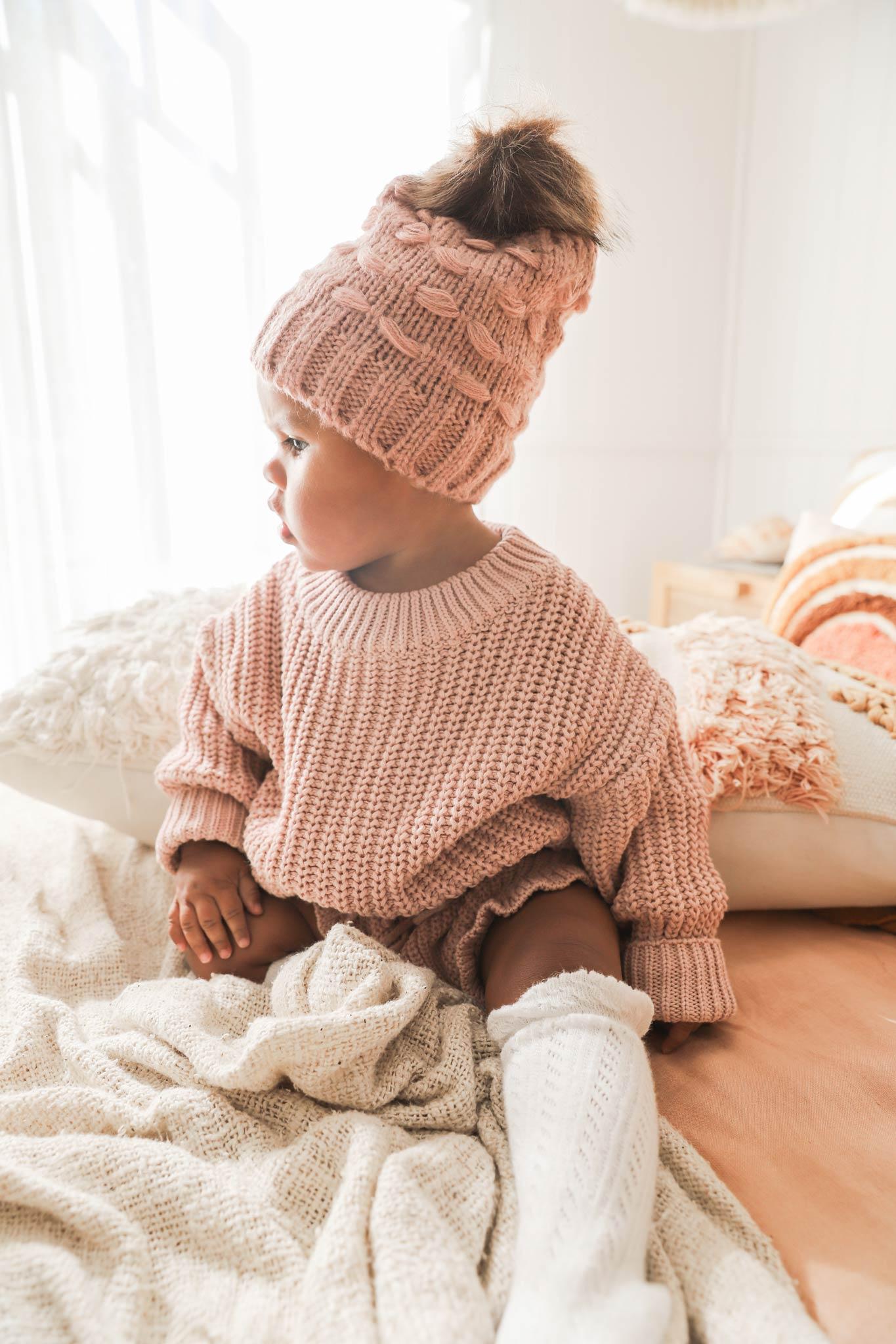 Paloma Knit Jumper Rose Pink