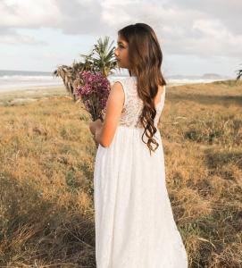 Cover Photo White Charlotte Dress