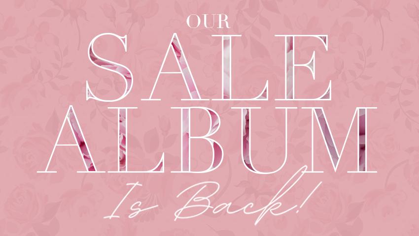 Sale Album Back Banner Pink2