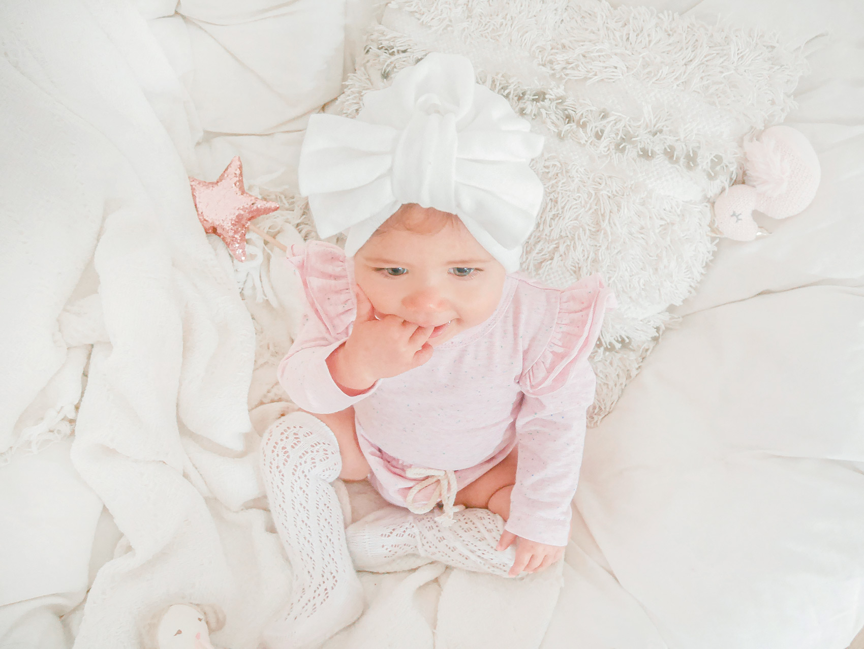 Poppy Bodysuit Selby Bloomers Pink Confetti