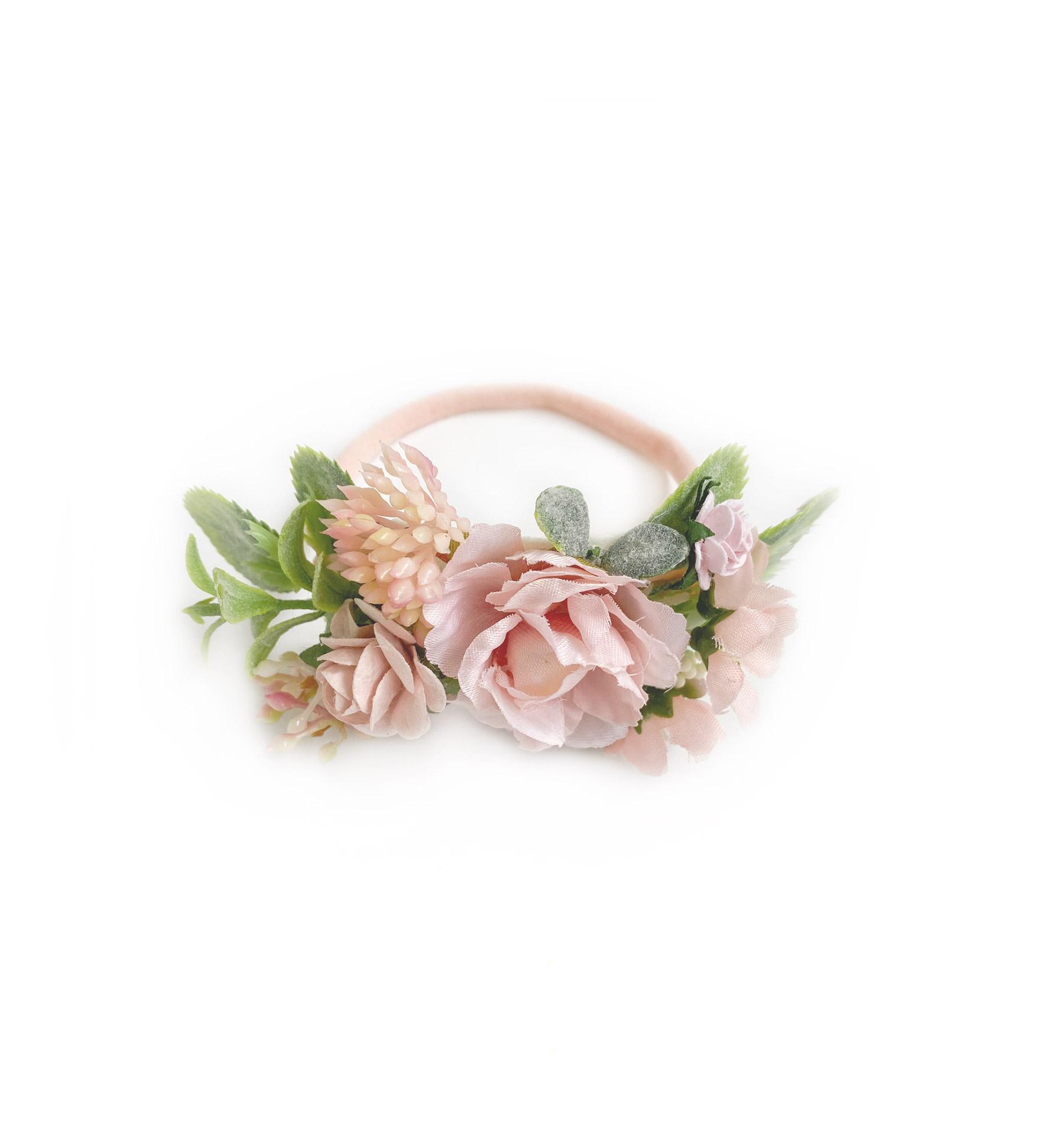 Cora Floral Stretch Headband