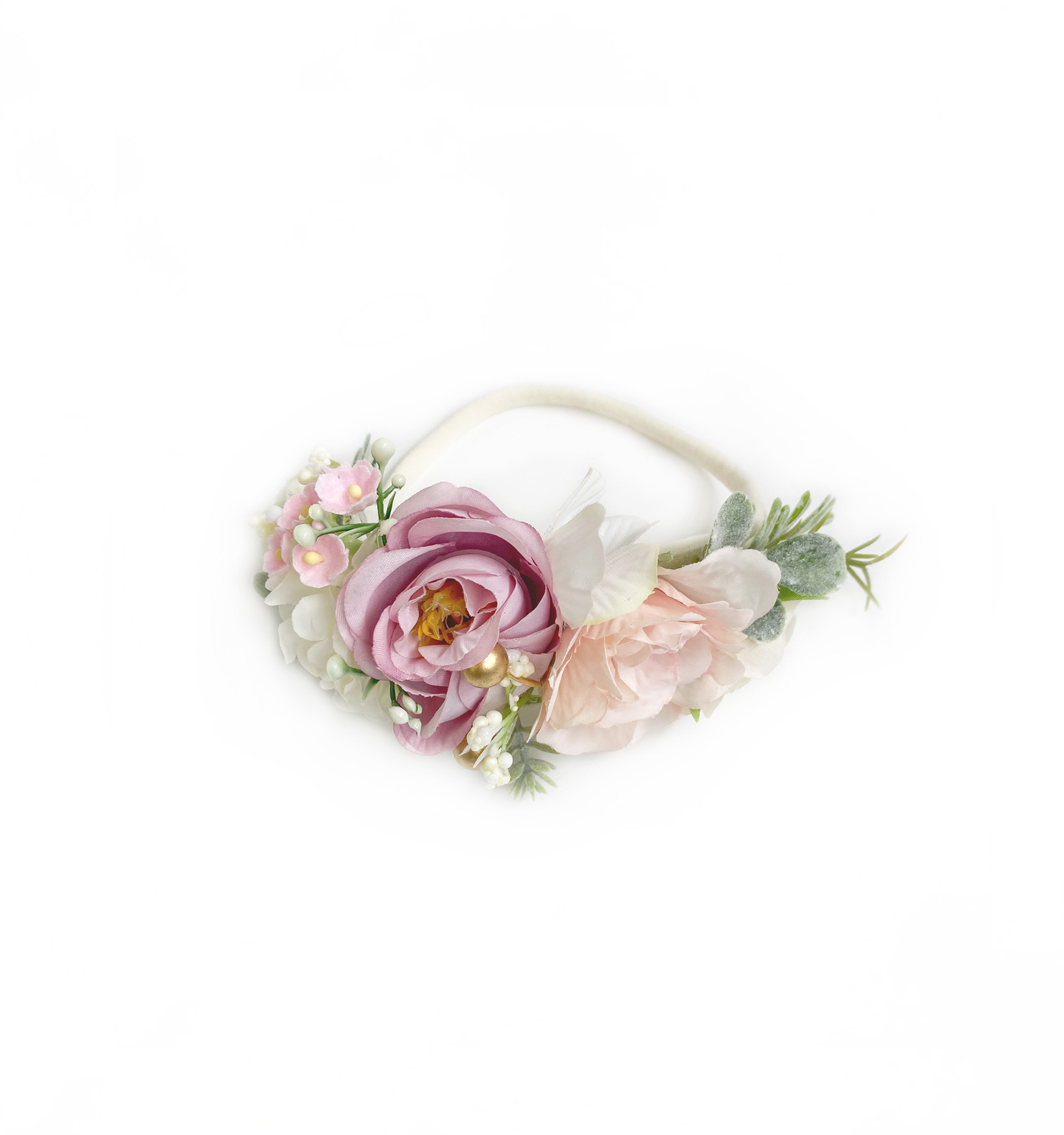 Esme Floral Stretch Headband