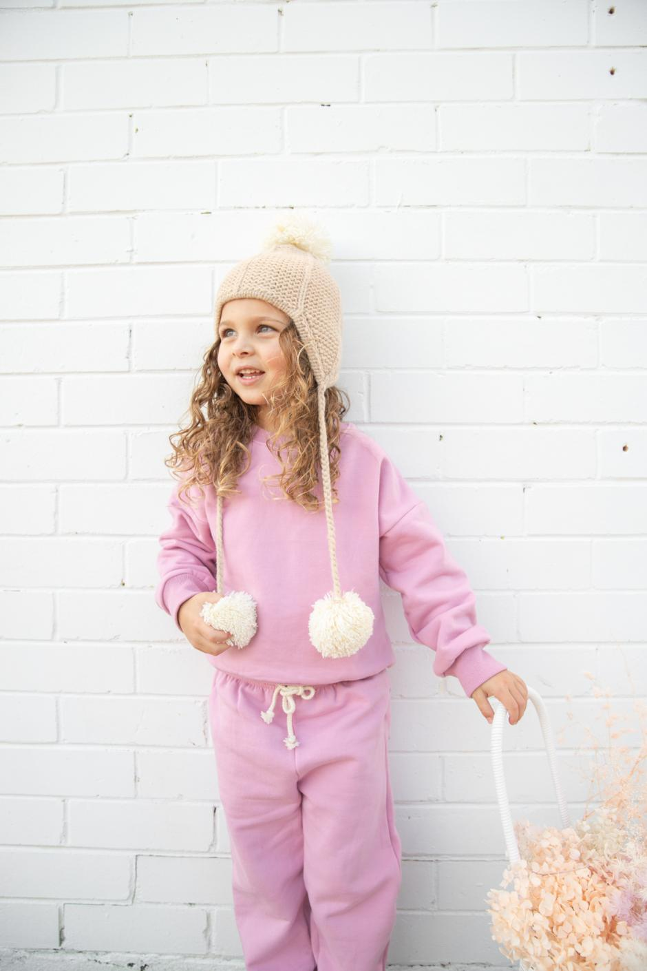 Keely Tracksuit Top Juni Pant Blossom