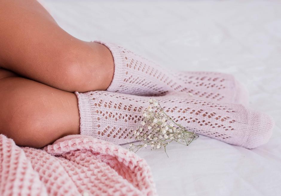 Effie Dusty Pink Socks