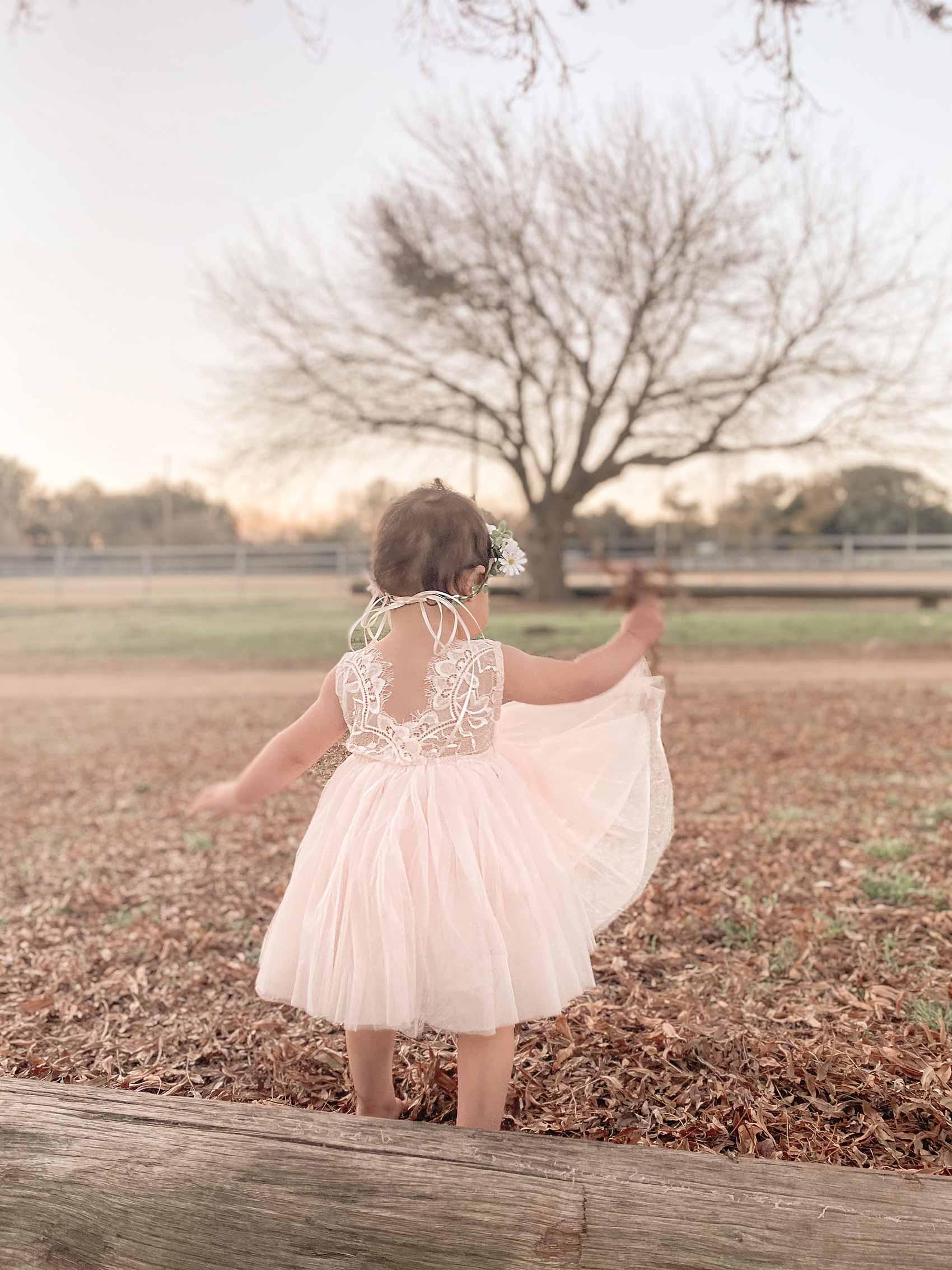 Light Peach Chloe Sleeveless Dress