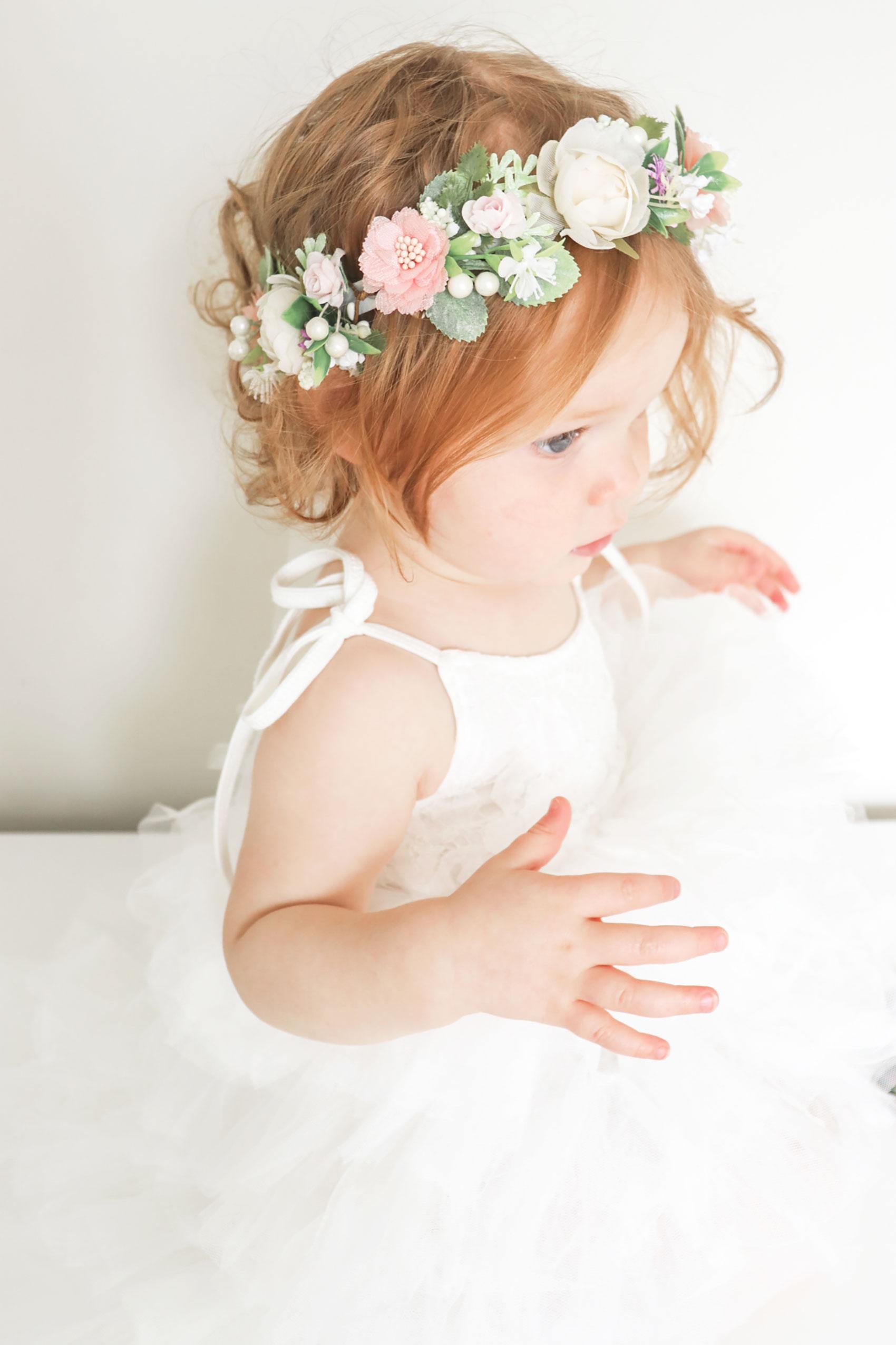 Girls Elouisa Tutu Dress Ramona Flower Crown