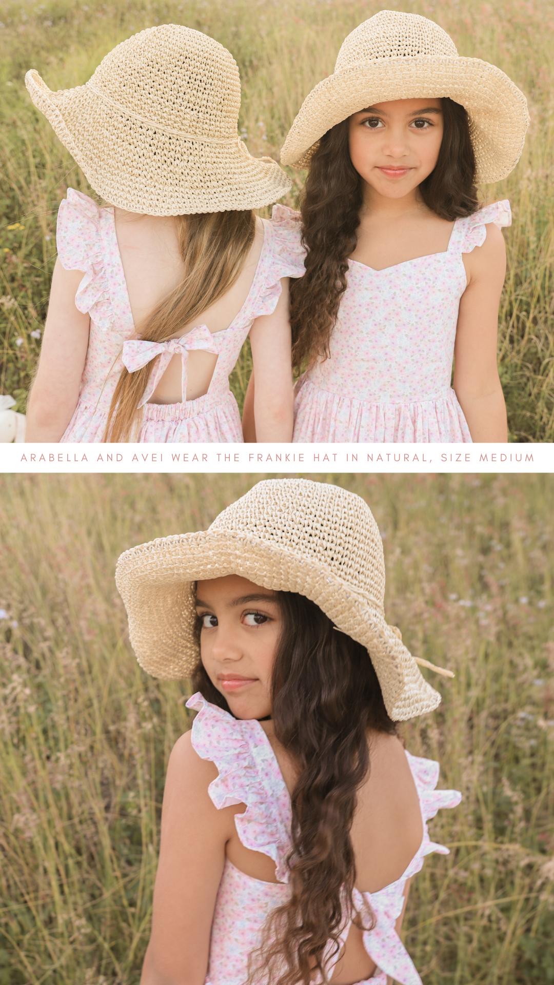 Frankie Straw Hat Natural Blog