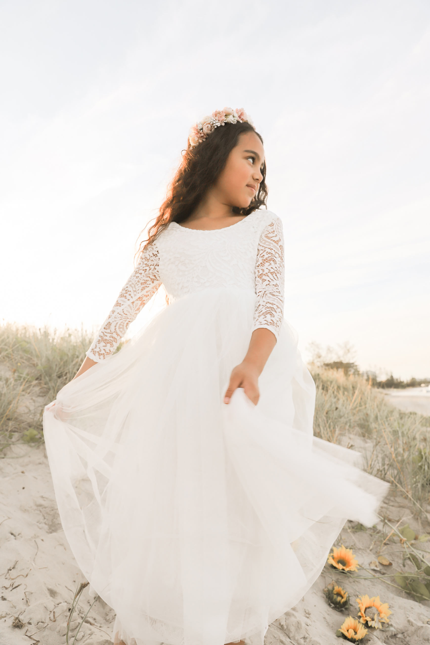White Swan Dress Margot Crown