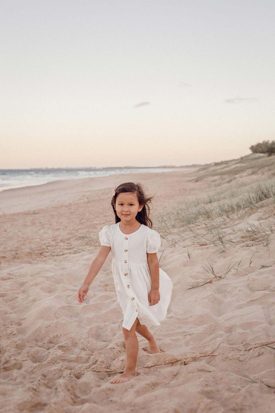 Eleanor Linen Dress