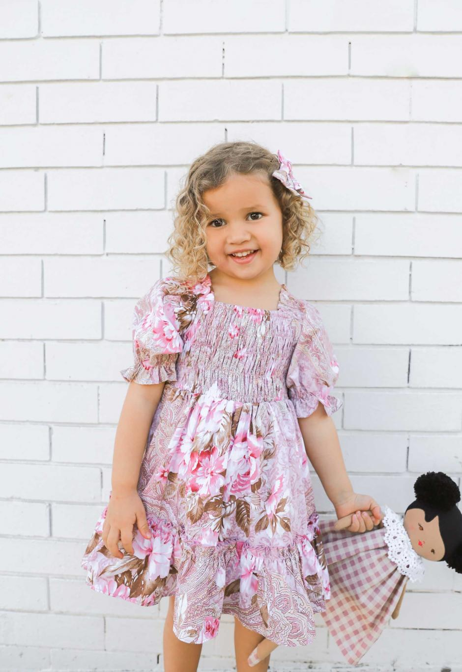 Girls Hazel Mae Dress