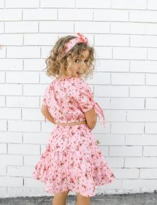 Girls Strawberry Kisses Two Piece Set