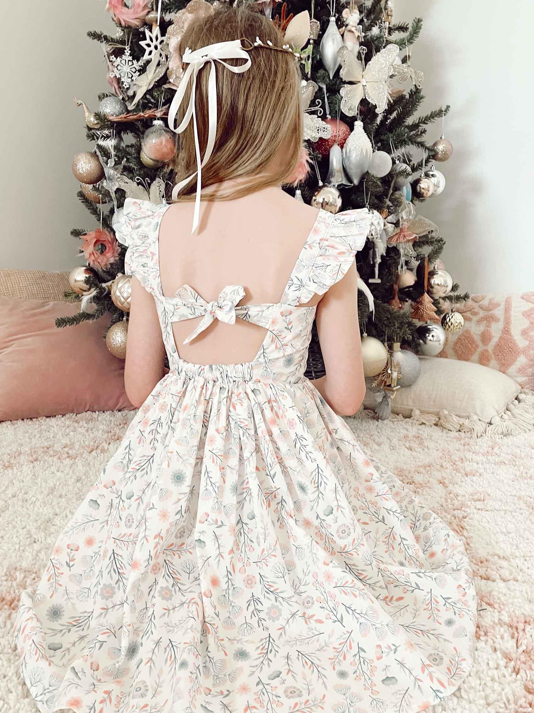 Snow Blossom Dress