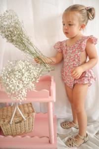 Baby Girl Rosalie Romper