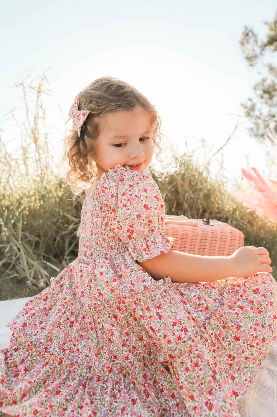 Girls Flora Floral Dress