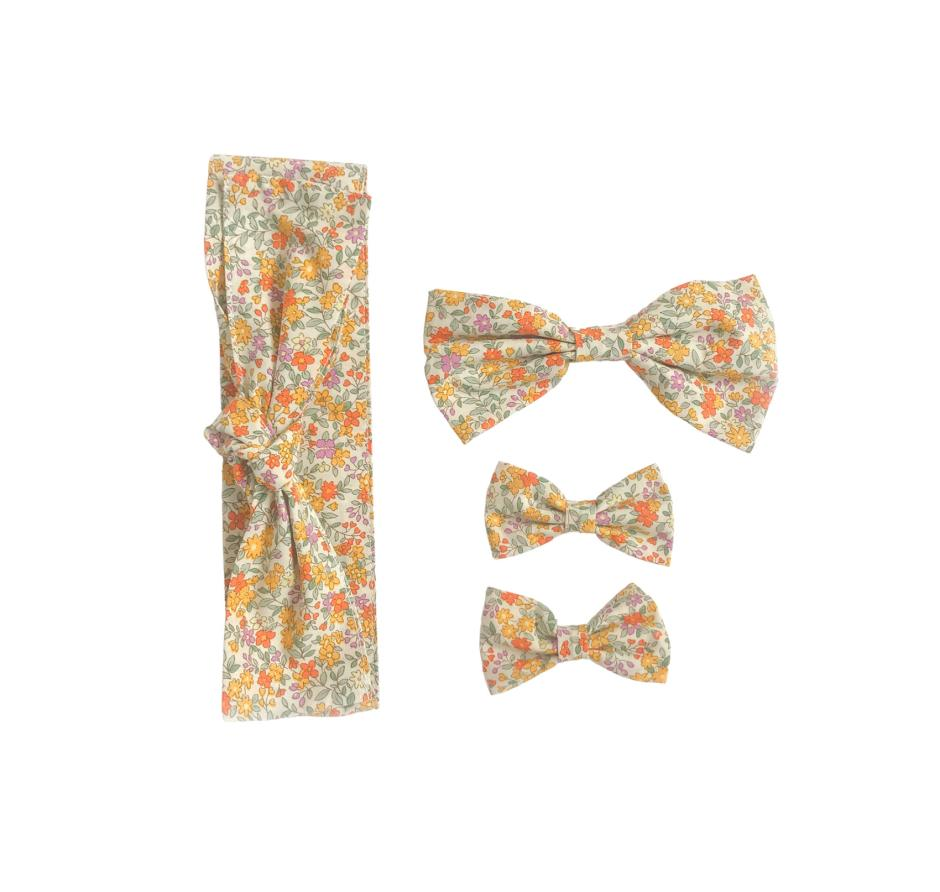 Marigold Floral Accessories